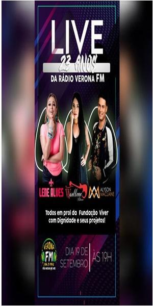 Live da Rádio verona