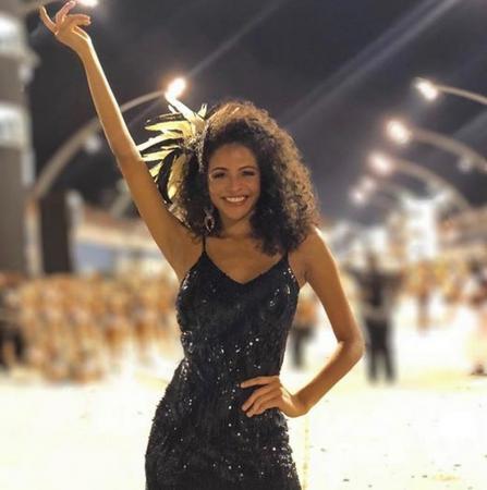 Miss Brasil fala da emoção de desfilar pela 1ª vez numa escola de samba:Estou ansiosa (Foto: Reprodução/Instagram)