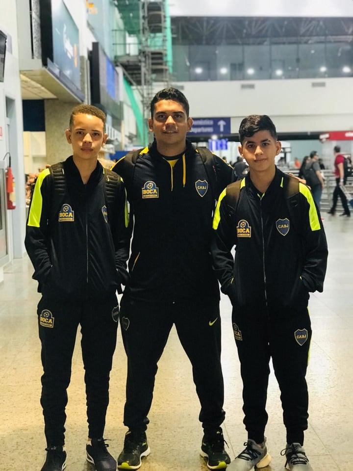 Foto: Reprodução/Boca Juniors Teresina