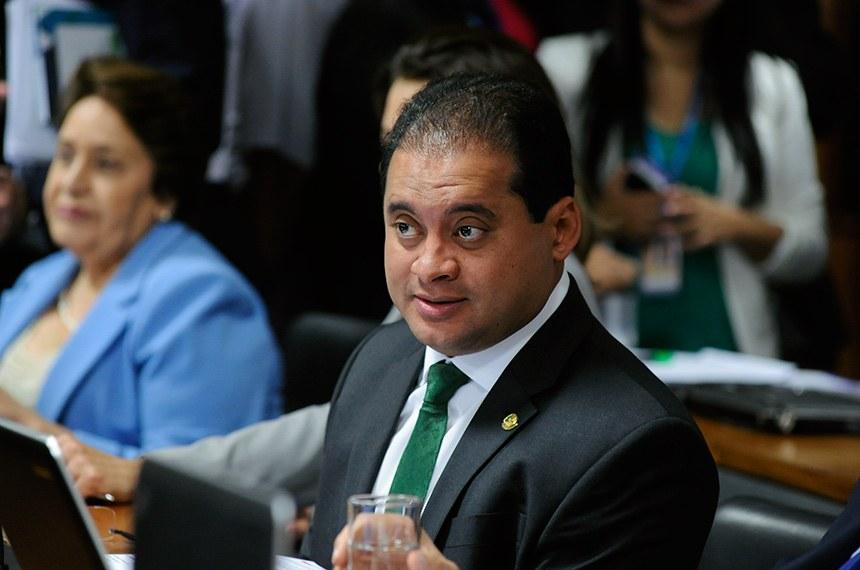 Autor do projeto, senador Weverton | Foto: Jane de Araujo - Agência Senado