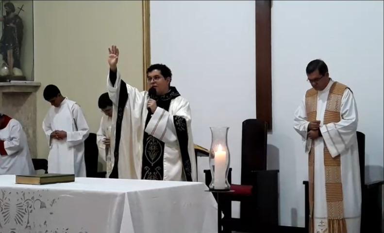 Missa pelo aniversário de 15 Anos Sacerdotal do Padre André Negreiros