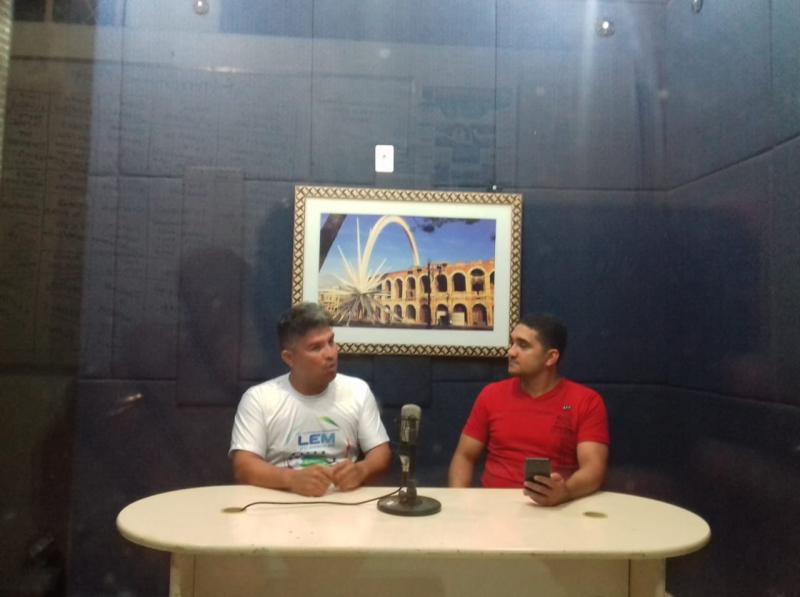 Esporte Verona - Com Deassis Ferreira e Noé Santos, hoje com a presença do Alan Presidente da Liga esportiva do mocambinho de Futebol, Arena Mocambinho